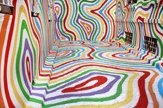 Lollypop Street--Street Art Installation. Seville, Spain. 2011