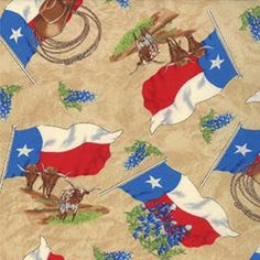 Lone Star State fabric - Moda 11263 12 available from Creations in Kerrville, Texas