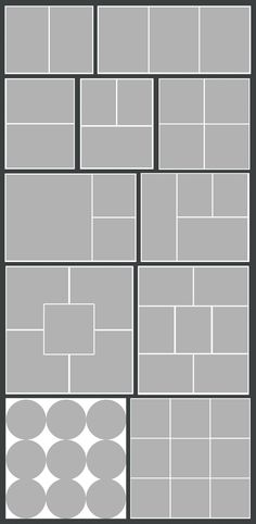 Photoshop story board templates