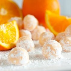 Orange Creamsicle Truffles - melt in your mouth divine