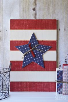 Easy DIY - 4th of July decoration