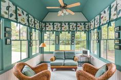 Cute sunroom