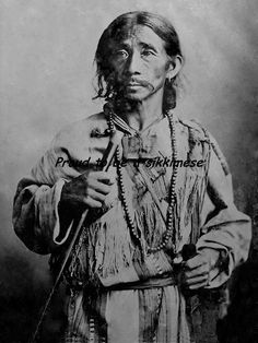 Rare photographs of people of Old Sikkim. Explore Eastern India with us! http://www.kennethphotography.com/india