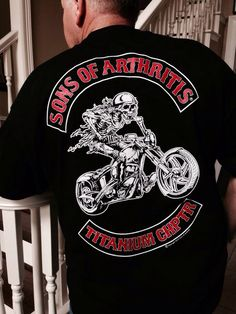 A shirt for the Old Fart in your world! www.sonsofarthritis.com