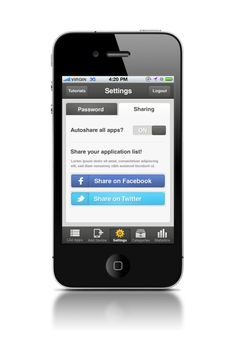 UI Share Facebook / Twitter / Privacy