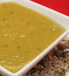 Split Pea Soup - A satisfying soup that will fill you up and yet leave you wanting more.
