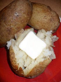 Lori Ann's Food & Fam: Slow Cooker Baked Potatoes