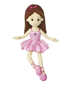 Take a look at this Pink Ballerina Doll by Aurora World Inc. on #zulily today!