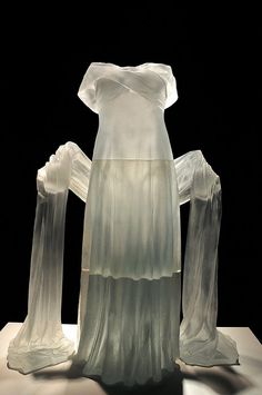 glass dress from Corning glass museum