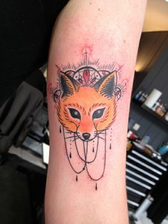 Fox Tattoo by San at Deuil Merveilleux