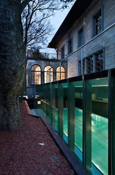 I/O architects — Swimming pool / terrace addition to a historic building — Europaconcorsi