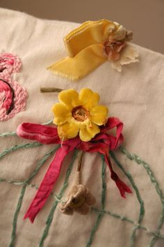 Sewing machine cover close up ~ Pam Garrison