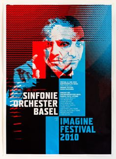 IMAGINE Festival Poster by Andreas Hider