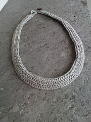 Ravelry: Crochet-texture necklace pattern by Lia Govers