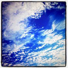 true blue skies