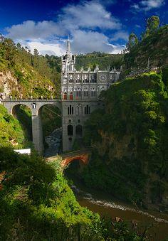 Las Lajas Sanctuary by ©haddock on Flickr