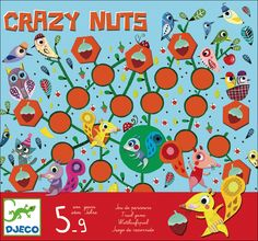 Crazy nuts Trail #Game by #Djeco from www.kidsdinge.com https://www.facebook.com/pages/kidsdingecom-Origineel-speelgoed-hebbedingen-voor-hippe-kids/160122710686387 #kids #kidsdinge #toys #speelgoed http://www.kidsdinge.com/index.php?item=Djeco%20Crazy%20nuts%20spel%20parcours%205-9j=%20%20&action=article&group_id=9&aid=4024&lang=NL