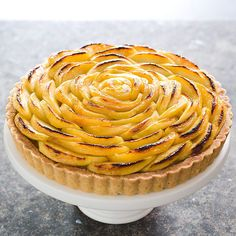 French Apple Tart from Cooks Illustrated