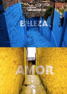 perspective matters: LUZ NAS VIELAS - Boa Mistura in São Paulo
