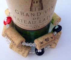 Wine Cork Garland Las Vegas theme poker by MaxplanationPhotos, $25.00