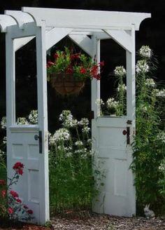 Love this idea for garden