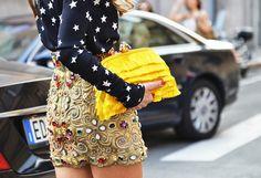 yellow fringe