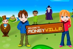 Moneyville is a fun and entertaining online game that gives your child a basic understanding of the value of money and the basic principles behind earning and spending money. http://www.moneyville.ie/