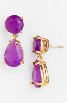 @kate spade new york teardrop earrings