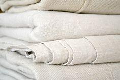 pale cream soft hemp linen sheet