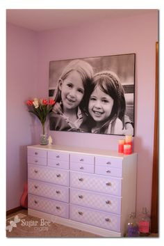 giant picture- learn how to make this for only 13 BUCKS!