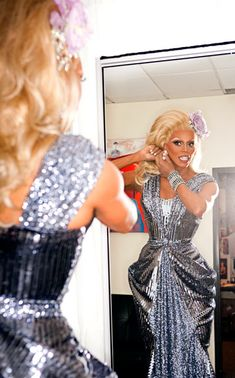 RuPaul, RuPaul's Drag Race. I just love this show! I want to be a drag queen!!