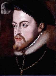 Prince Phillip of Spain, husband of Queen Mary Tudor, great-nephew of Katerina de Aragon