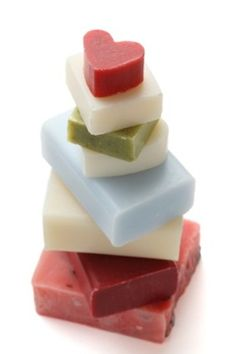 Basics of Soap -Making + Goat Soap Recipe  Love goats milk soap...may just have to try it!