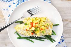 Baked Coconut & Panko Crusted Tilapia Recipe — Savor The Thyme - Food, Family and Lifestyle
