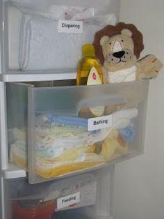 CREATE STUDIO: Organizational Week Day 4: Baby Stuff-must do for baby room
