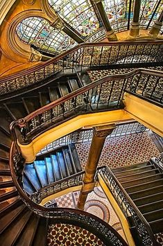 Stunning depictions of Staircases - Part 1 - Queen Victoria Building, Sydney.