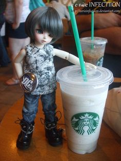 Comic Book Lovers love Starbucks