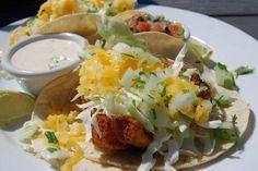 Fish Tacos at the Moonstone Beach Bar & Grill