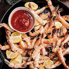 Shrimp Cocktail with Singapore Hot Sauce
