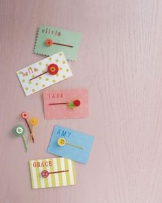 Make Button Hair Clips for Stocking Stuffers