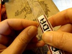 How To Bead On A Loom Dragon Loom by Beth Murr