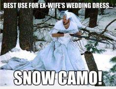 I Won The Ex's Wedding Dress In The Divorce