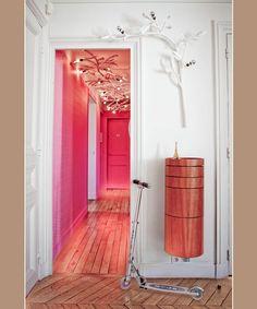 pink corridor