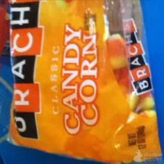 Candy corn science experiment.