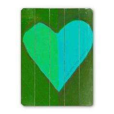 Find it at the Foundary - Heart II Vintage Sign