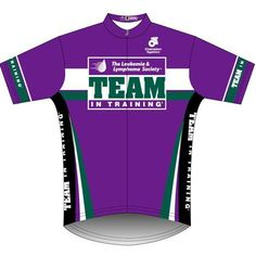 Team in Training NYC Cycling Jersey (PURPLE) - Team in Training -... via Polyvore