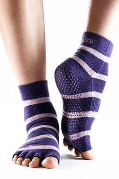 These are the best socks to provide the perfect amount of traction during all those Pilates exercises. Also great for Yoga as well. If you don't have traction on your socks remember to always ask the instructor for some grip mats. Without the proper traction and instruction Pilates can cause injuries so always use proper caution when on the Reformer & Cadillac.