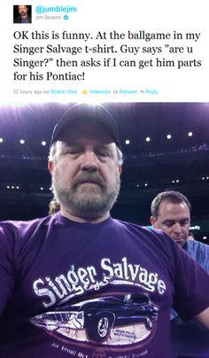Jim Beaver tweet.