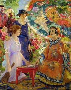 Fortune Teller - Colin Campbell Cooper (1921)