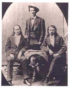 Wild West Historic Photos | hickok-omohundro-cody.jpg